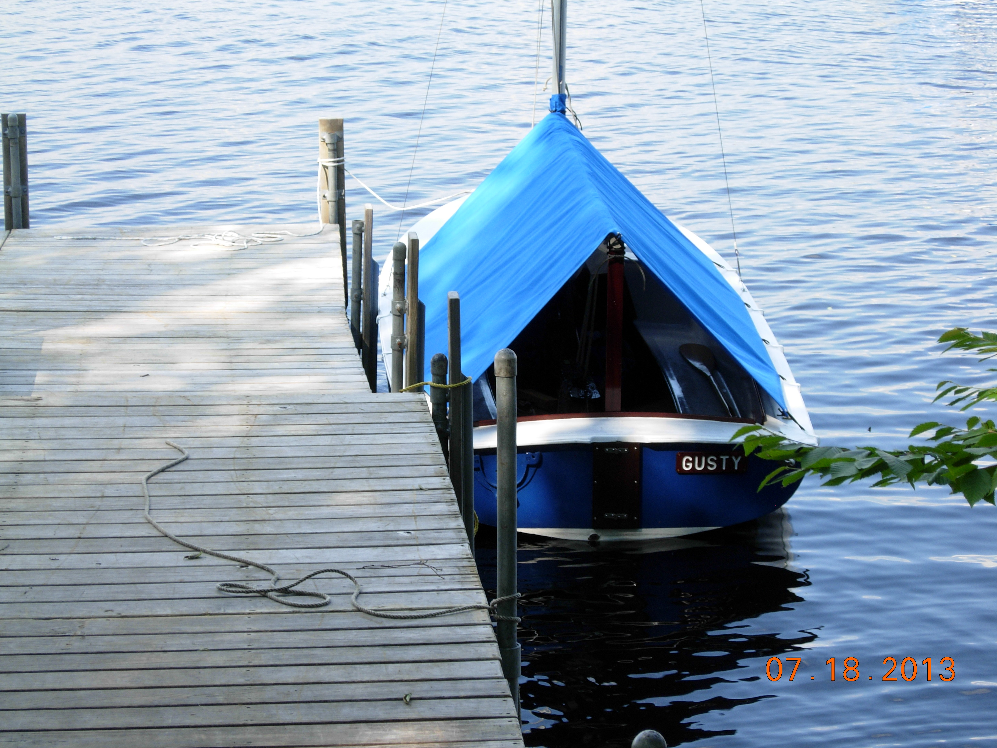Boat Tent Cover : Boat tents