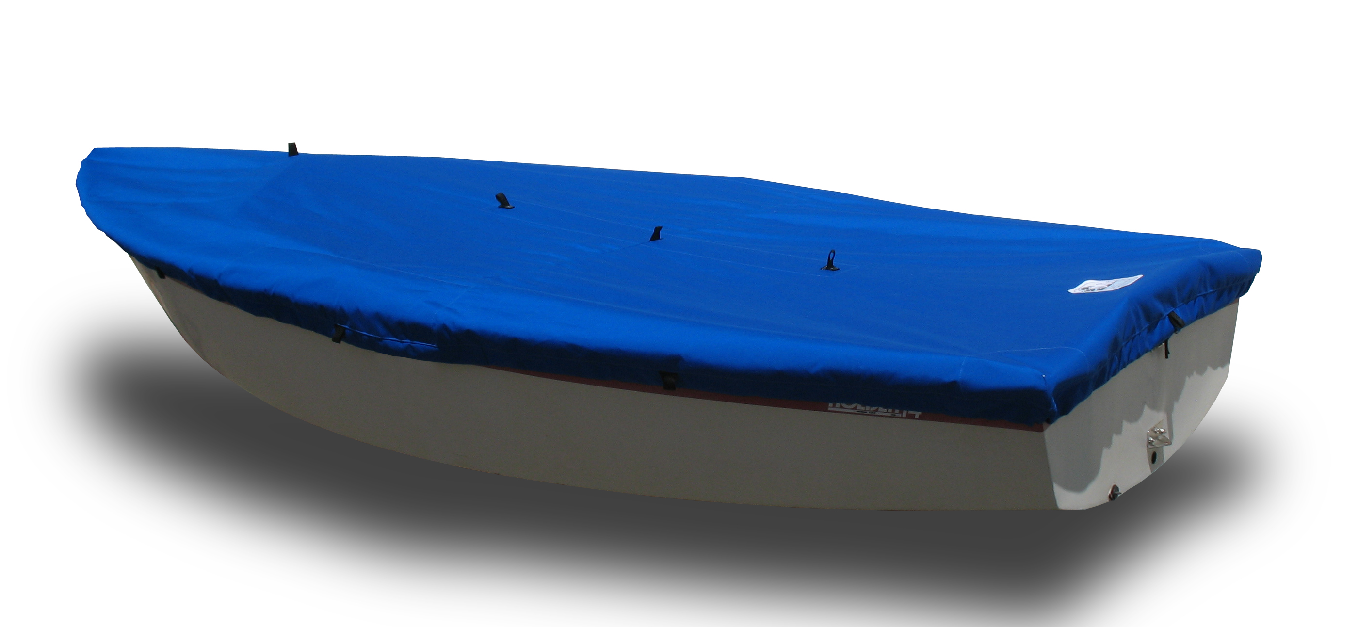 Boat Deck Cover Blue Poly Holder 12 Sailboat
